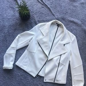 Express Casual Moto Cropped Jacket